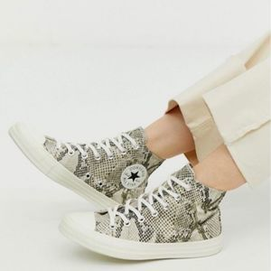 Converse 70's High Top Sneakers Snake Print
